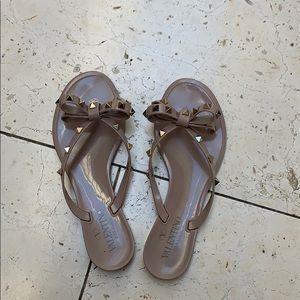 Valentino Stud flip flops